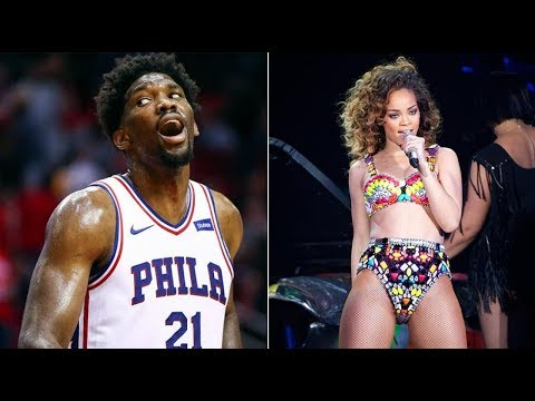 No date for you! Rihanna Gets Blocked by Sixers Star Joel Embiid