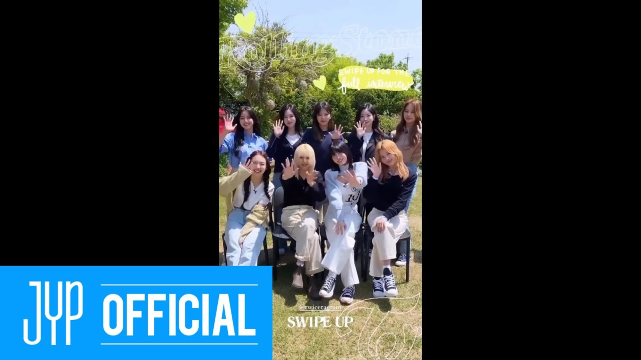 """TWICE & Rolling Stone IG Takeover_About """"Taste of Love"""""""