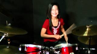 ST12 - PUSPA - Drum Cover by Nur Amira Syahira