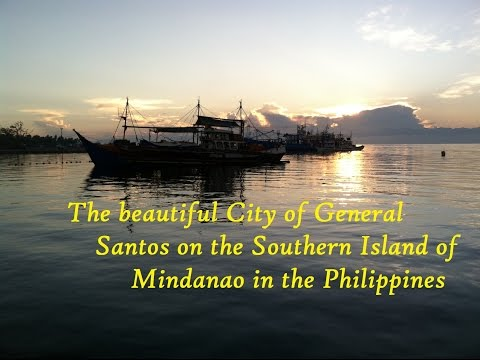 Images of General Santos City on the Southern Island of Mindanao in the Philippines