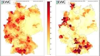 Solar energy forecast Germany January 2013