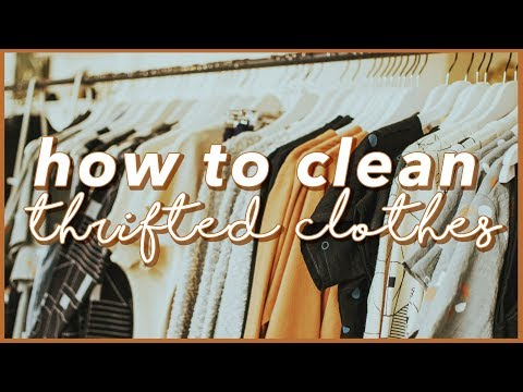 HOW TO CLEAN THRIFTED CLOTHES (Philippines)