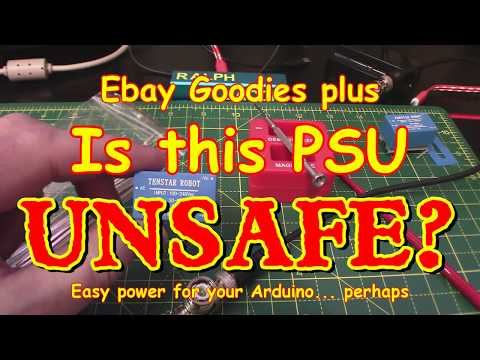 #105 Unsafe ⛔ Encapsulated TSP-05/HLK-PM01 PSU? AND Other Stuff (cheap!)