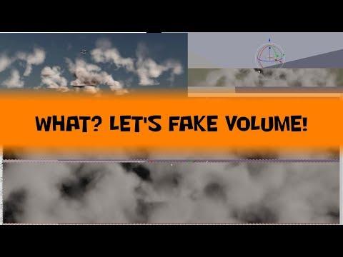 12 Cloud cards in Blender for 3D Volumetrics