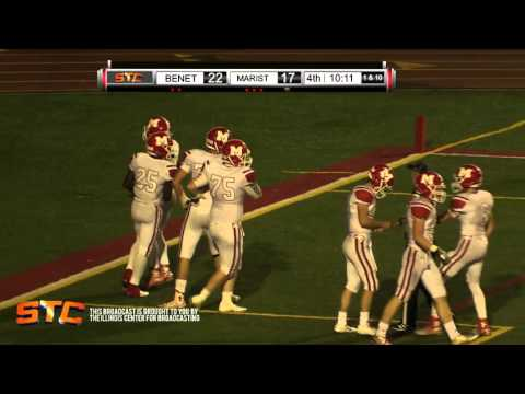 Benet Academy v Marist High School 4th quarter 2015 09 25