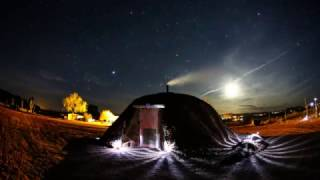 Navajo Hogan - Time Lapse - Monument Valley