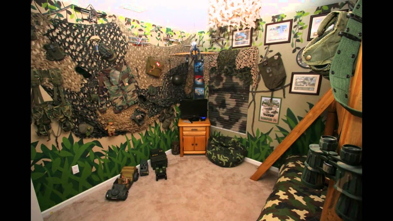 Army Bedroom Youtube