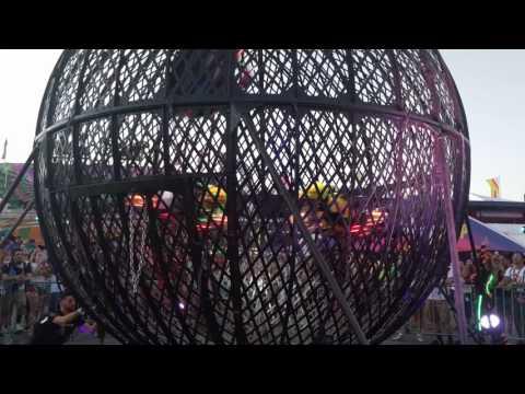 EDC LV 2017 - Globe of Death 3/4