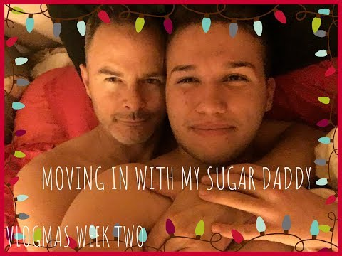 VLOGMAS WEEK TWO | MOVING IN WITH MY SUGAR DADDY!!!