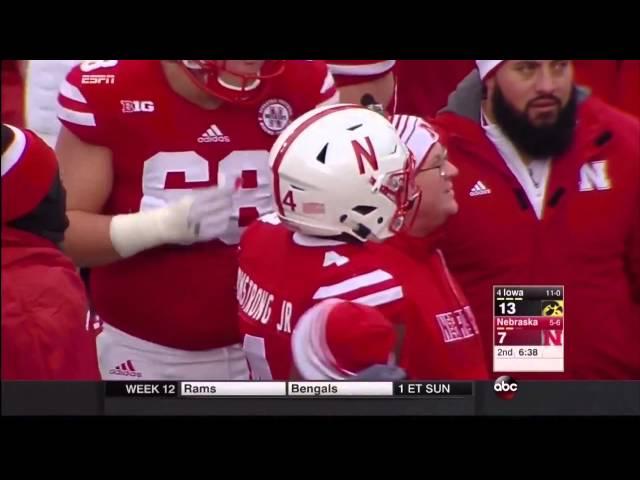 2015 #4 Iowa at Nebraska Highlights
