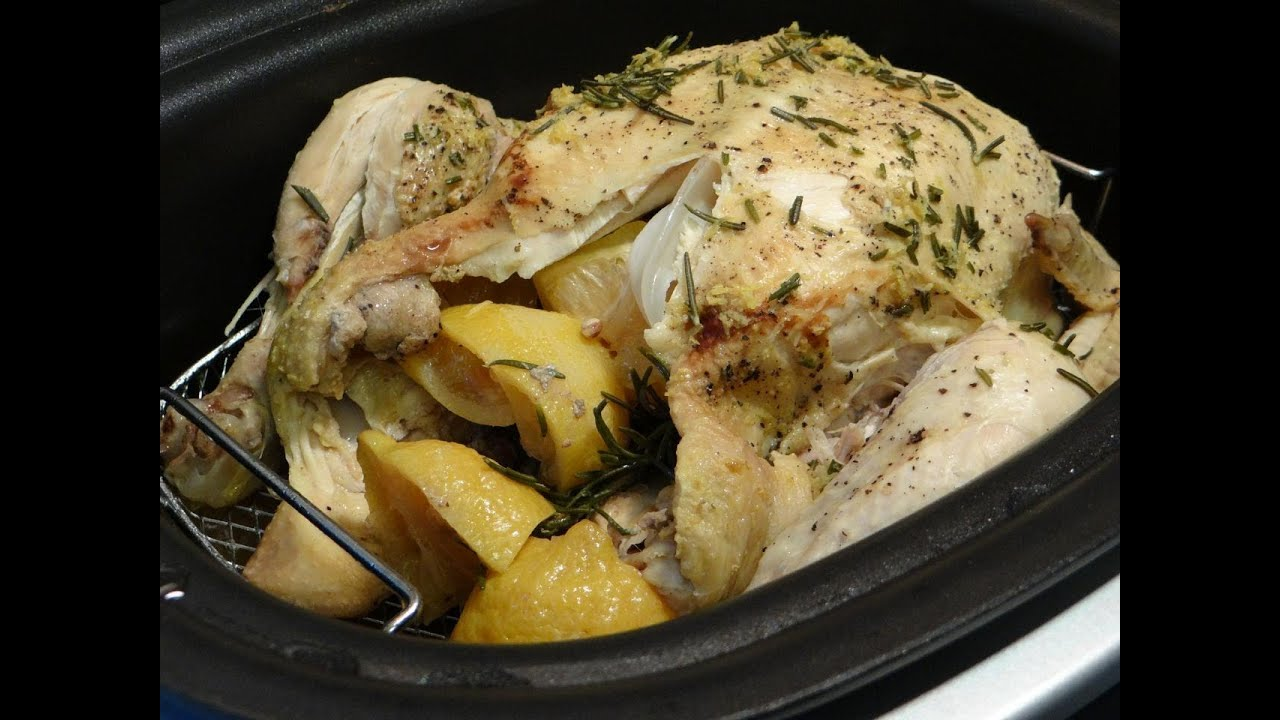 Lemon Chicken with Rosemary