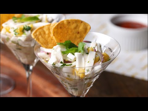 How To Make Vegetarian Ceviche With Coconut •Tasty