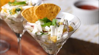 How To Make Vegetarian Ceviche With Coconut • Tasty