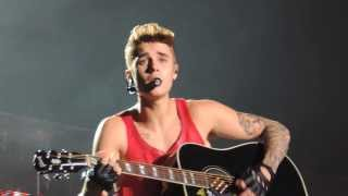 Fall  - Justin Bieber @Buenos Aires, Argentina 09/11/13 (HD)