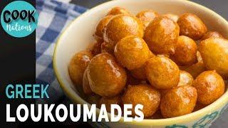 Fried Sweet Dumplings | Loukoumades Recipe | Sweet Fried Dough | Greek Sweet Ball by CookNations