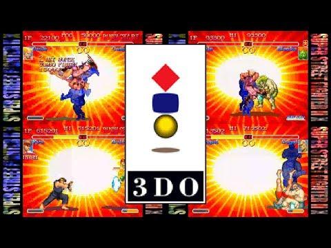SUPER STREET FIGHTER II X / Turbo for 3DO