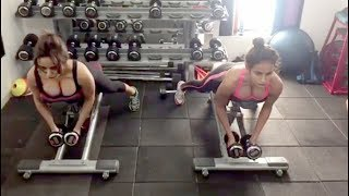 Neha Sharma And Aysha Sharma Daily Hot Gym Workout Video | Celebrities Workout Videos | Video 2