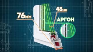 КБЕ-76мм по цене окон 60мм ( акция ограничена )