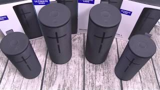 UE Boom 3 and UE Megaboom 3 - Speaker Review