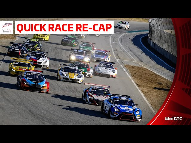 California 8 Hours - Short Highlights - Intercontinental GT Challenge 2019 - Motor Informed