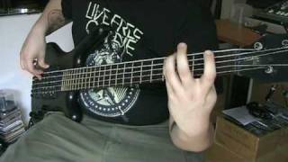 The Faceless - An Autopsy (Bass Cover)