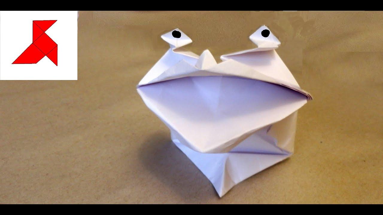 Оригами своими руками из газета фото 692