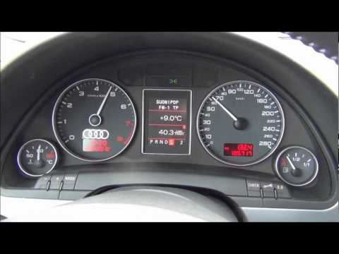 audi a4 b7 2 0 tfsi q tiptronic avant sample acceleration. Black Bedroom Furniture Sets. Home Design Ideas
