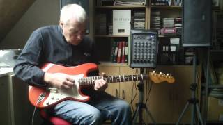 The Shadows sleepwalk solo guitar