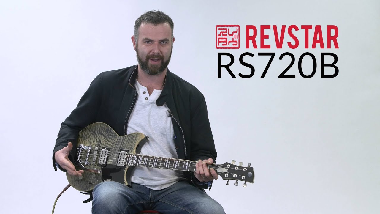 yamaha revstar rs720b electric guitar youtube
