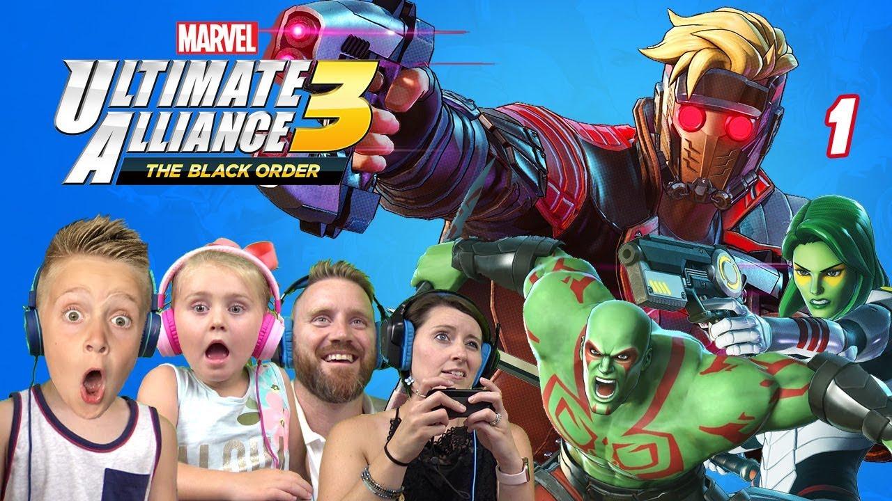 Marvel Ultimate Alliance 3: The Black Order Part 1 | K-City GAMING