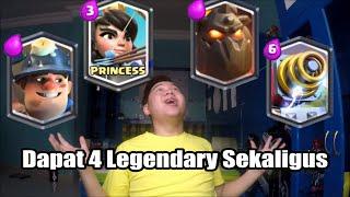 Dapet 4 Legendary Sekaligus Dari Magical Chest!