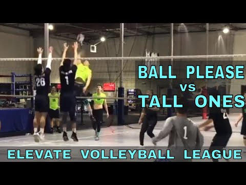 Ball Please vs Tall Ones - EVL #1, Match 5, Playoffs Round 2 (Elevate Volleyball League 2018)