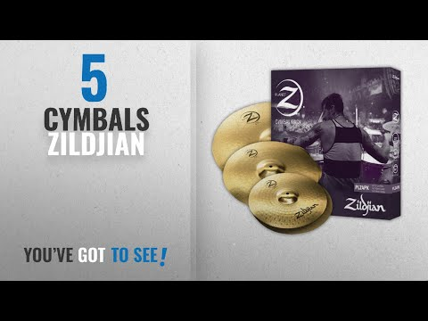 "Top 10 Cymbals Zildjian [2018]: Zildjian Planet Z PLZ4PK 14"", 16"" and 20"" Cymbal Set, 3 Pack"
