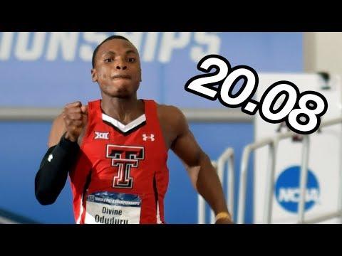 DIVINE ODUDURU RUNS WORLD'S FASTEST 200M!