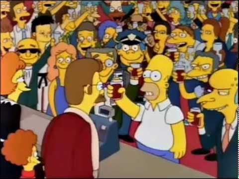 Homero salva la tienda de Flanders - Los Simpson