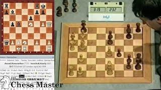 Ананд ЗЕВНУЛ МАТ В 1 ХОД, а Иванчук не заметил! Блиц шахматы.