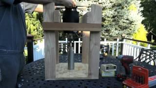 Stirling Cryocooler for liquid nitrogen