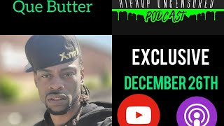 Que Butter On His Issue With Umar Johnson,  Building His Own School From Nothing & Being A Leader!