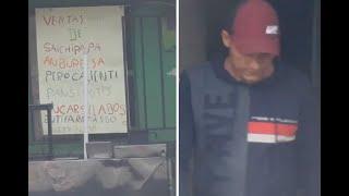 Presunto jefe de peligrosa banda criminal se hacía pasar por vendedor de perros calientes