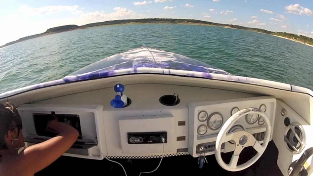 1995 Baja boat for sale Killeen,TX skulls wrap SOLD - YouTube