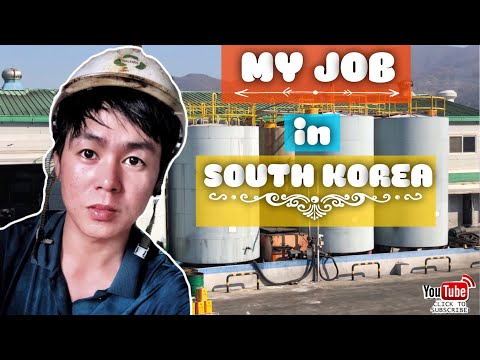 MY WORK IN SOUTH KOREA (factory worker) DAILY ROUTINE