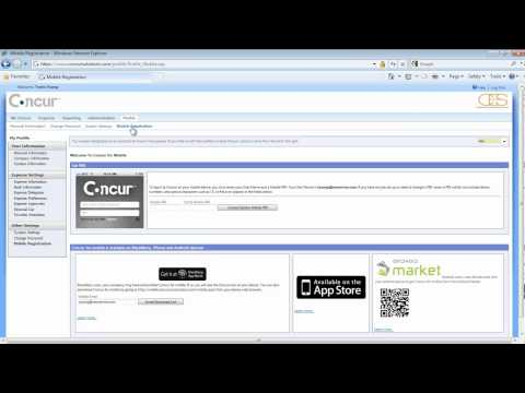 Concur expense training Part 1