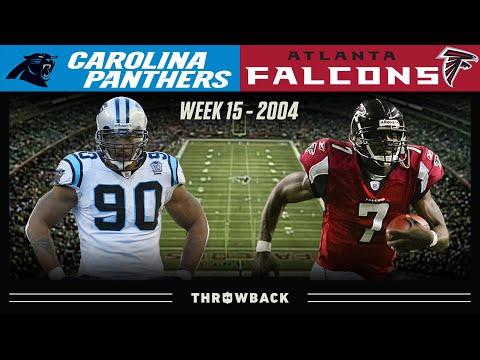 [NFL Throwback] Panthers vs Falcons Saturday Night OT (2004, Week 15)