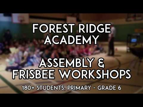Frisbee and Unplugging at Forest Ridge Academy