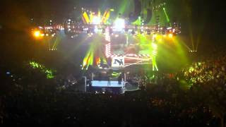 Edge, Nexus and the Smackdown roster Entrance (Live M.E.N)