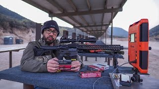 Range VLOG #063 224 Valkyrie Federal 90gr SMK Disappointment