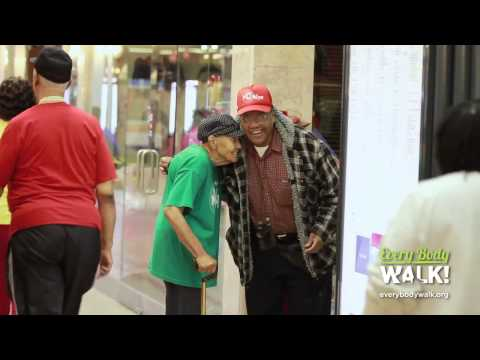 City Walk: Walks of Life: Iverson Mall Walkers