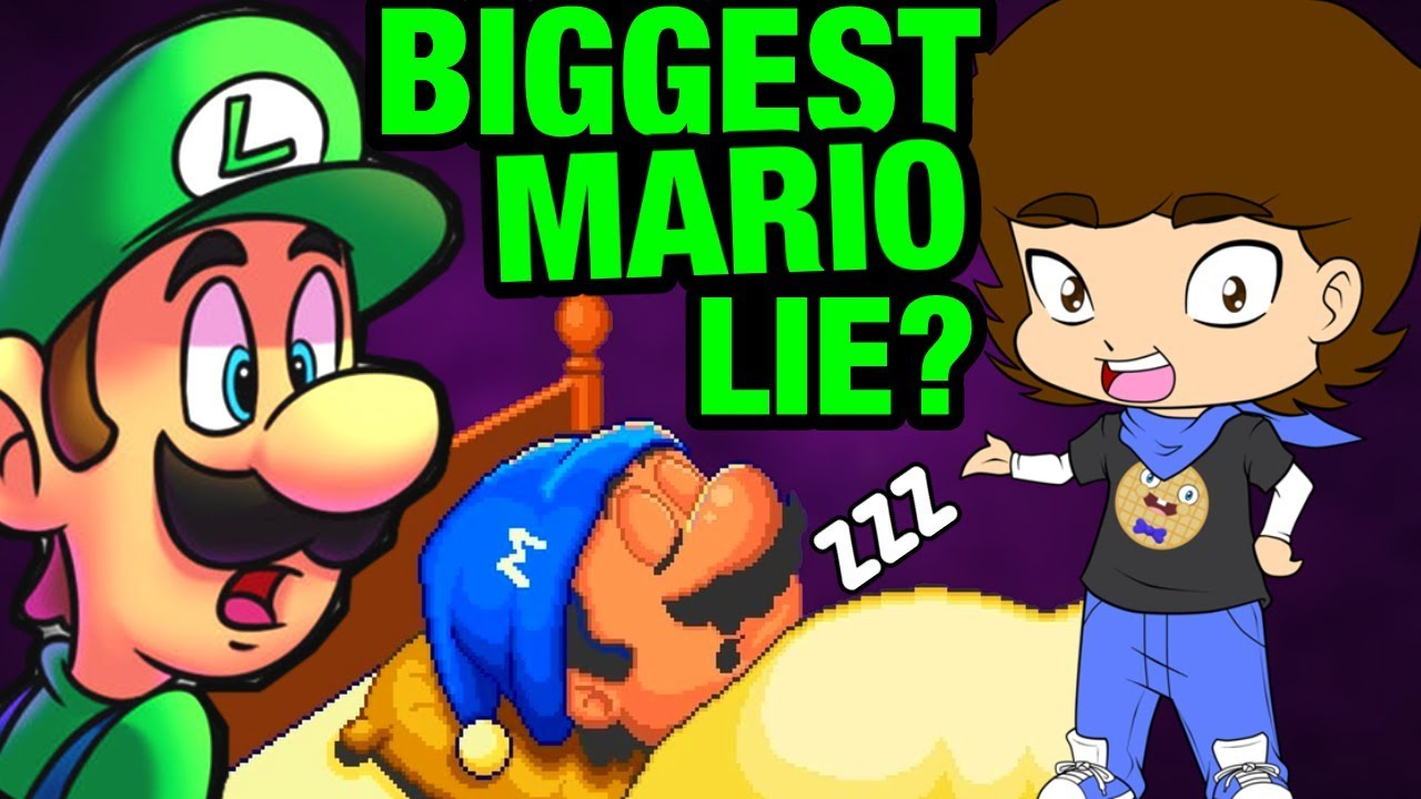 Download Mario's SECRET Sleepy Lore? (Super Mario Bros. Theory) - ConnerTheWaffle