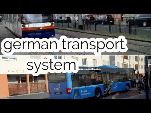 Public Transport In Germany/ German Transport System