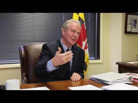 Congressman Van Hollen talks with The QOP